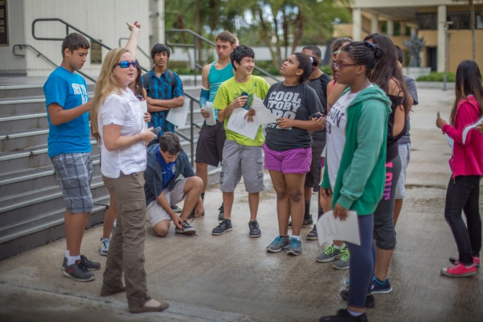 Summer camp gives high school students chance to explore geoscience