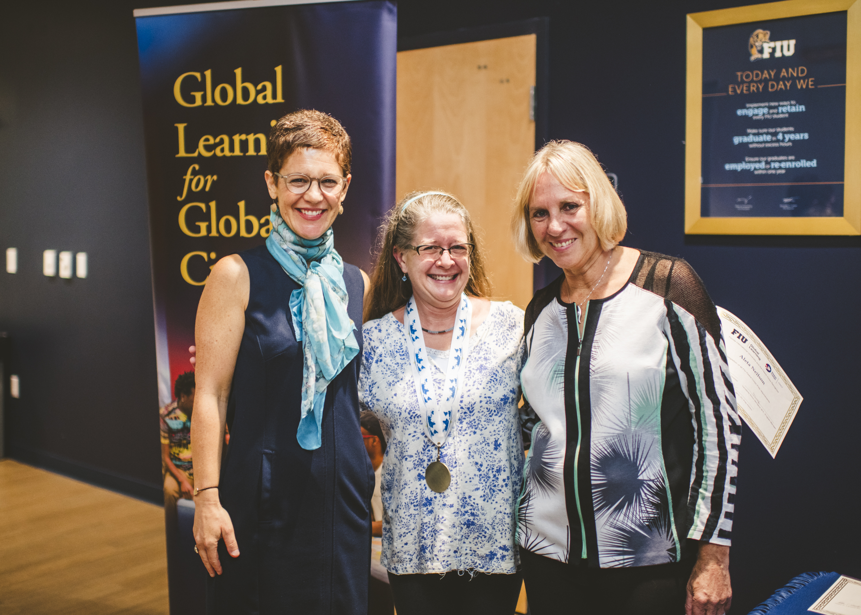 Online student awarded Global Learning Medallion, Peace Corps Prep certificate