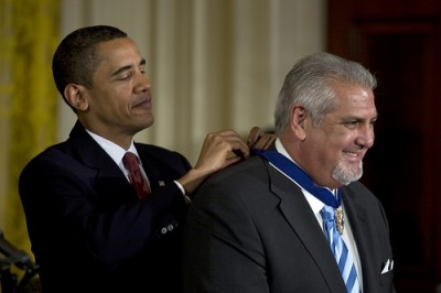 Dr. Joe Greer receives Presidential Medal of Freedom