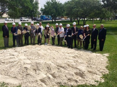 FIU administration joins South Florida Congressional delegation and local elected officials to break ground on the UniversityCity Prosperity Project at MMC