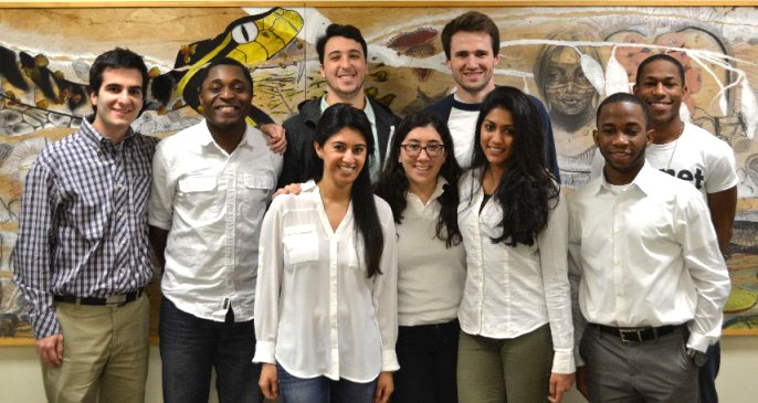 HWCOM medical students who will be going on the Haiti medical mission trip