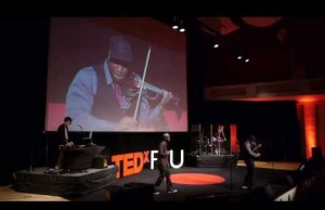 TEDxFIU: Kev Marcus '03 of Black Violin delivers talk on music that thinks outside the box
