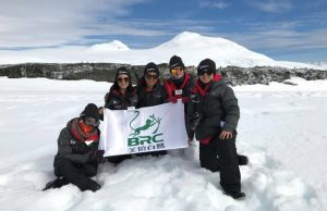 Wuying Lin and other Homeward Bound participants from China completed a month-long leadership development program in Antarctica.