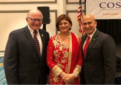 rk B. Rosenberg, Fauzia Jaffer and Mohsin Jaffer