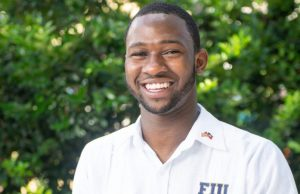 Jefferson Noel, Student Government Association President for Biscayne Bay Campus
