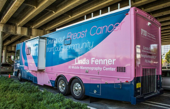 """Mammovan"" fights breast cancer"