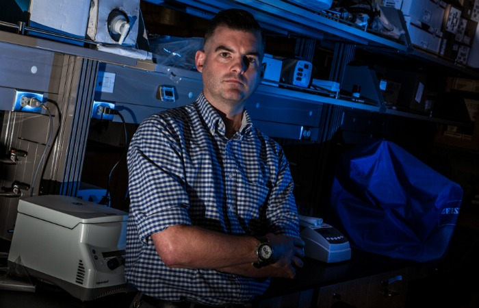 Free radical scientist Marcus Cooke uses novel approaches to search for medical cures