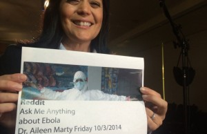 5 things we learned from the Ebola Reddit AMA