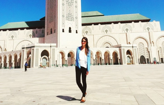 Dayra Carvajal is a Boren Scholar studying in Morocco