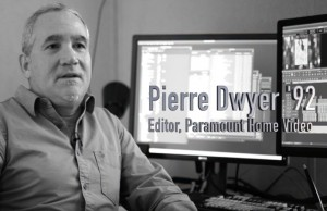 Alumni impact: Pierre Dwyer '92, editor for Paramount Home Video