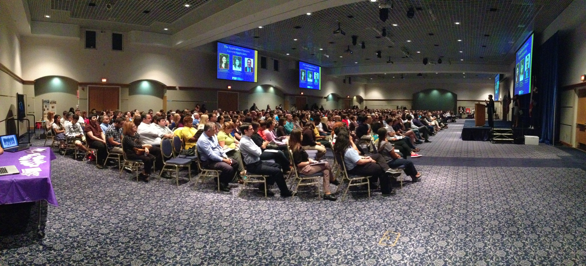 Hundreds turned out for the 6th Annual FIU Pre-Medical Informational Forum