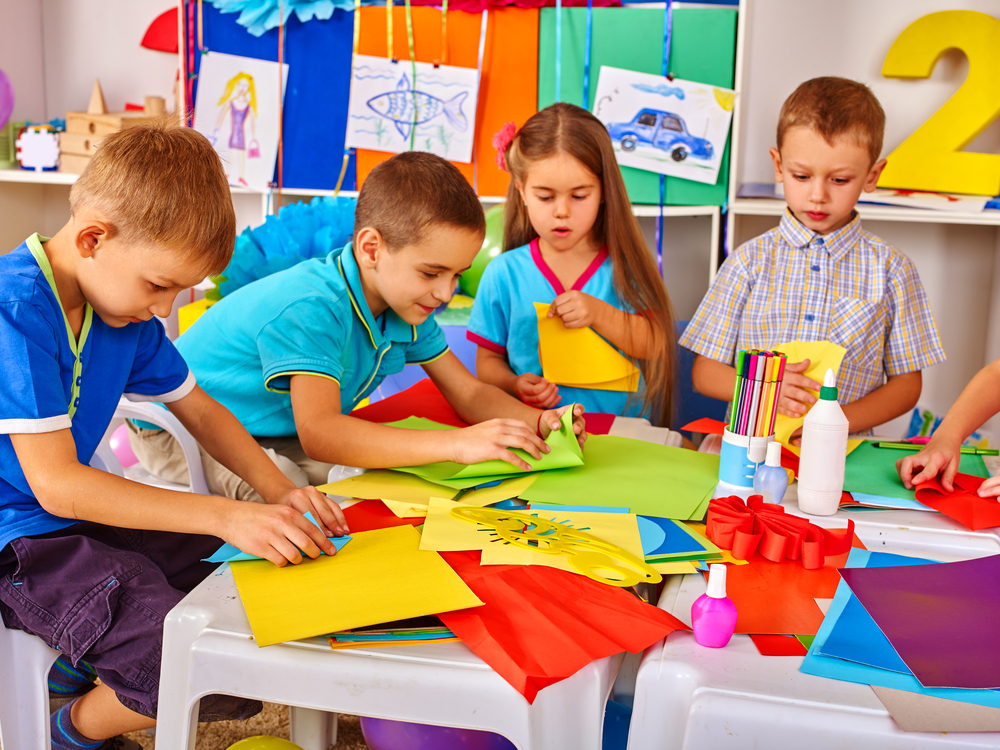 Children who learn to work together in preschool can carry these collaborative skills into adulthood.