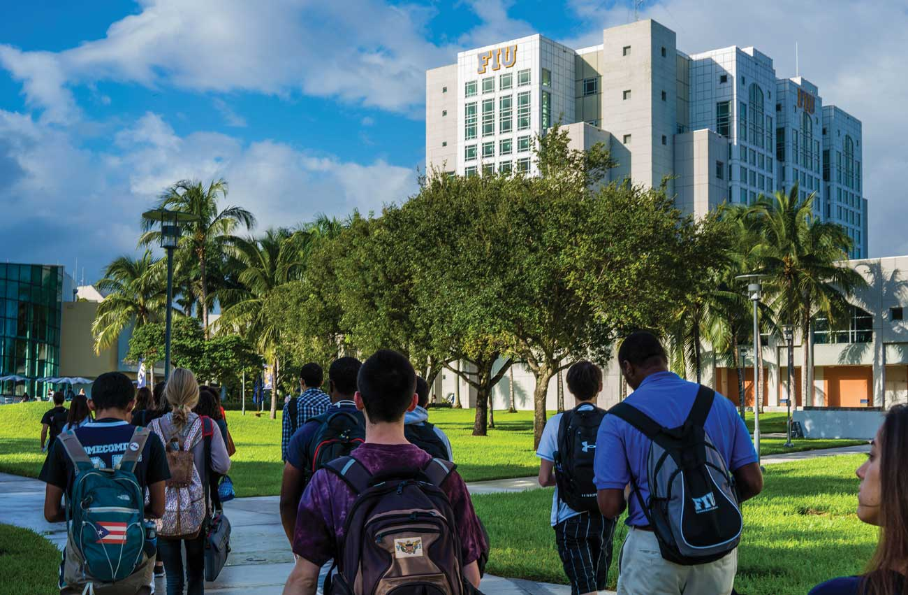 FIU welcomes students from Puerto Rico and other Caribbean islands