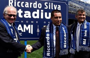 Football stadium gets new name: Riccardo Silva Stadium