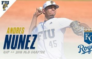 Andres Nunez drafted by Kansas City Royals