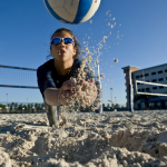 FIU's newest student-athletes hit the sand