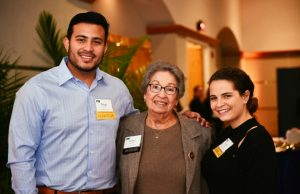 Scholarship recipients meet their benefactors for breakfast