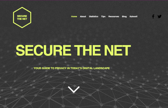 Students create digital security website to educate public