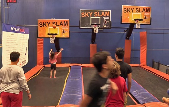 Small Business Development Center at FIU jumps in with Sky Zone