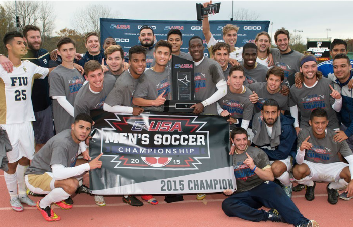 Men's soccer defeats Marshall to win first C-USA title