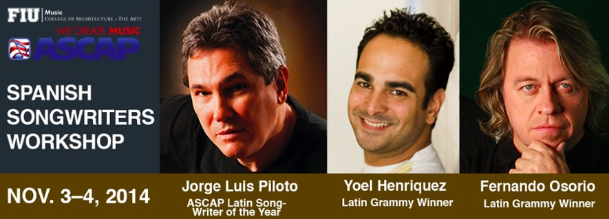 Spanish songwriters workshop open to FIU students
