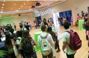 Spotify mixes music and careers with College of Business students