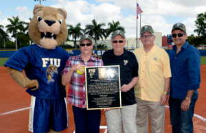Softball honors Michael Felsberg in field dedication ceremony