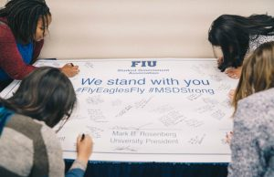 FIU honors 17 lost by encouraging positive actions