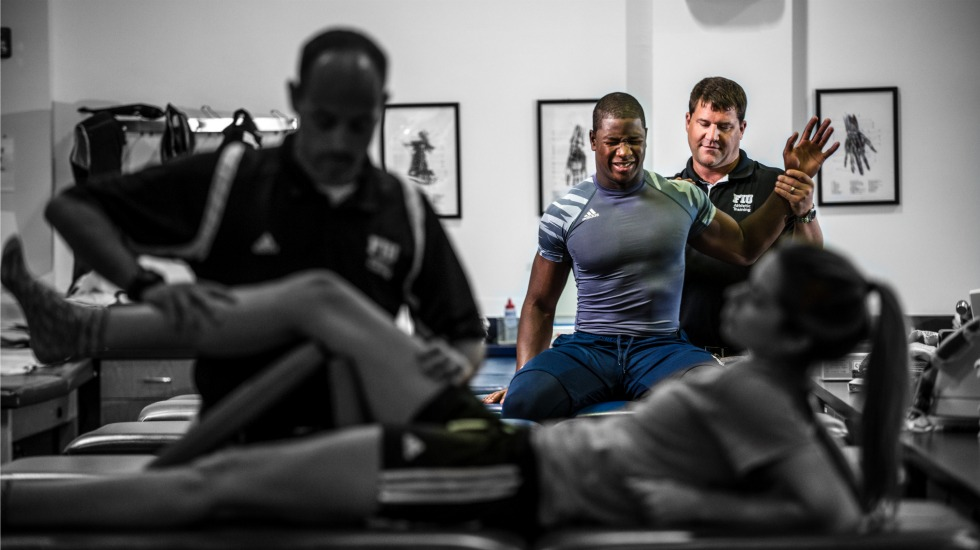 Training to win: Athletic trainers play critical role in the health and well-being of student-athletes