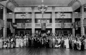 In 1914, a Miami Beach gala attracted more than 200 of the city's elite, all dressed in costumes representing the many nations allied against Germany in the First World War.