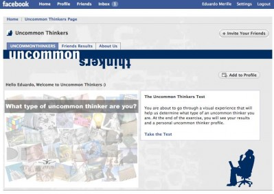 "FIU College of Business breaks new ground with ""Uncommon Thinkers"" Facebook application"