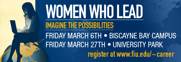 Women Who Lead – 3rd annual conference at FIU