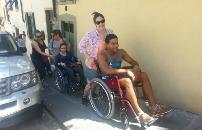 Study abroad in a wheelchair: Tough travels teach a lesson