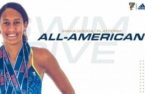 Freshman diver becomes youngest All-American in program history